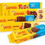 CBS Produtos | Chocolates Garoto lança linha de cookies, bolachas recheadas e cobertas