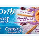 CBS Produtos | Novos Cookies integrais com aveia e passas