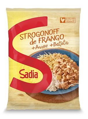 O strogonoff pronto da Sadia. Será que é bom ou deixa a batata murcha?