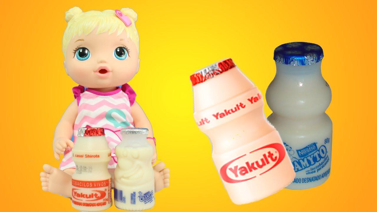Qual leite fermentado você prefere? O Yakult ou o Chamyto?
