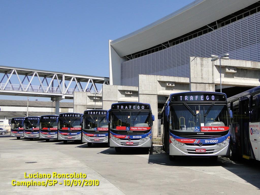 Túnel do Tempo   A entrega de novos ônibus da Viação Boa Vista no ano de 2010