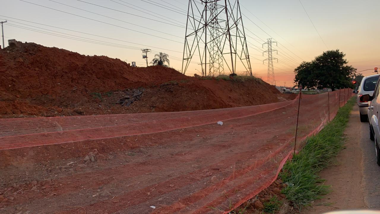 A Pauta é… Concretagem de trecho do BRT no Jd. Aurélia agiliza obra, que segue avançando