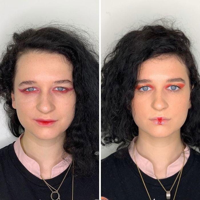Curiosidades | Maquiadora mostra diferenças entre maquiagem caseira e profissional