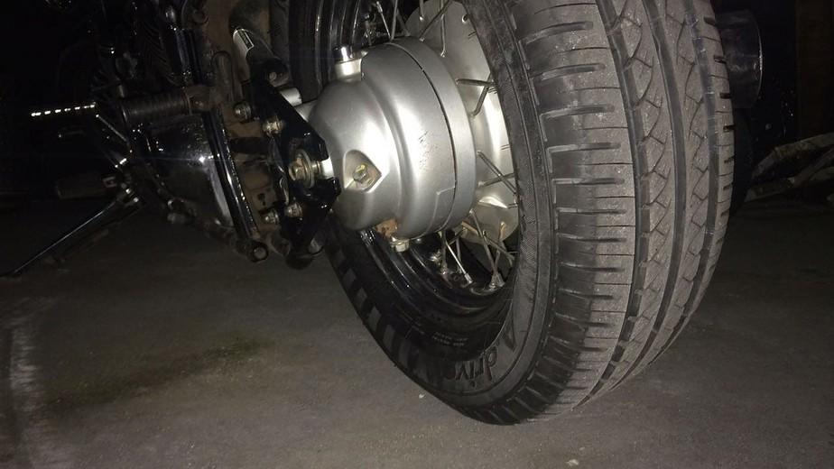 Motocicletas: é possível colocar pneu de carros na roda traseira das motos?