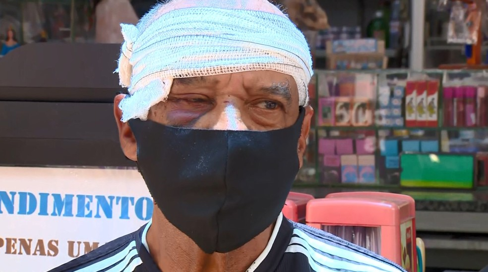 Homem que espancou idoso em Campinas é ouvido e indiciado