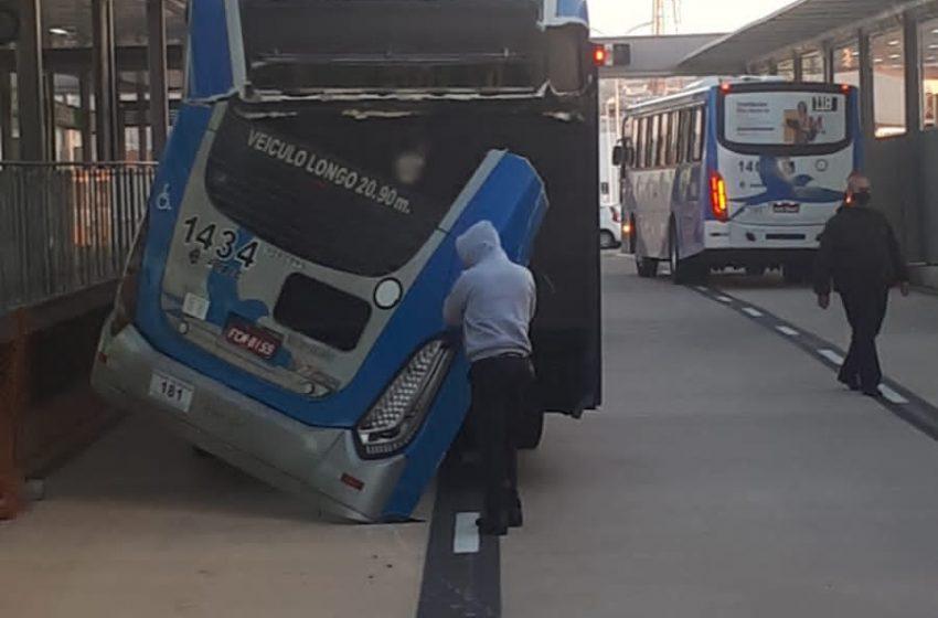 Acidente mostra falhas na estrutura e operação de terminal do BRT em Campinas