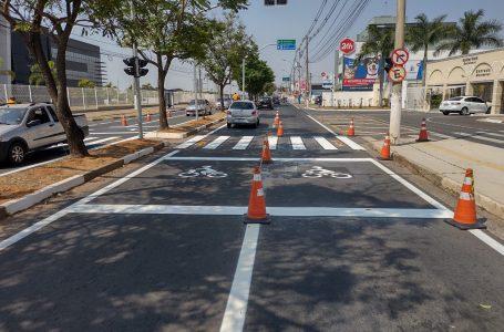 Prefeitura de Hortolândia implanta primeiro bolsão de motos em avenida da cidade