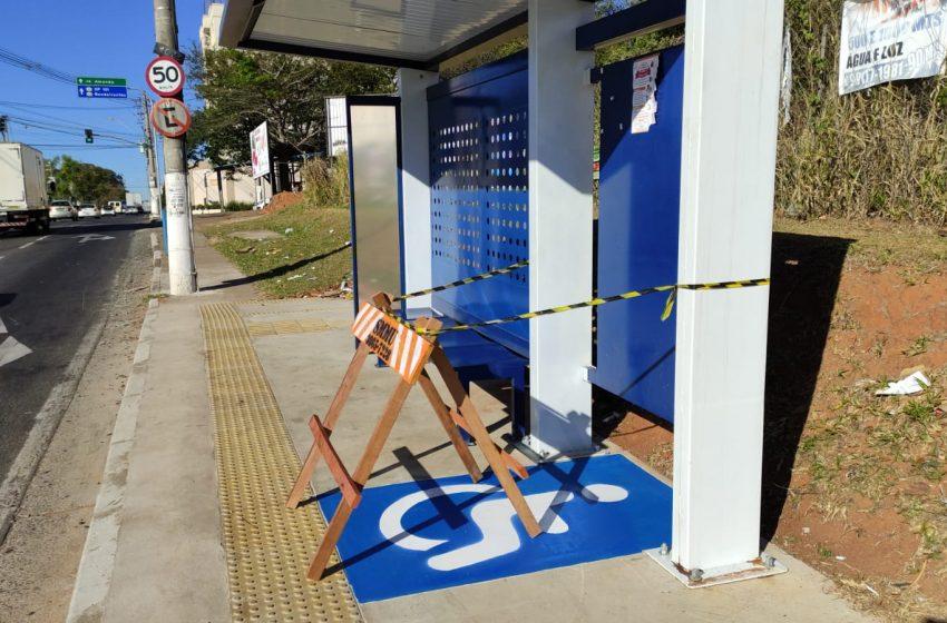 Prefeitura de Hortolândia implanta melhorias em pontos de ônibus