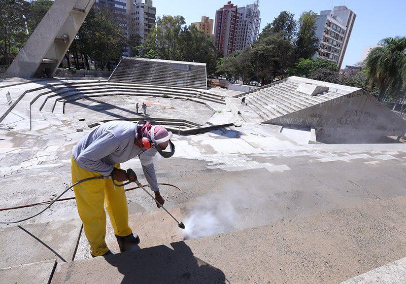 Segunda etapa da reforma do Centro de Convivência em Campinas é iniciada