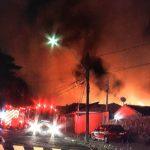 Incêndio atinge duas casas no Jardim Nova Europa