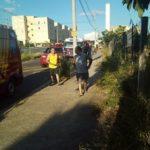Mulher que aprendia a dirigir conduzia carro que perdeu controle e caiu de ribanceira na Vila Abaeté